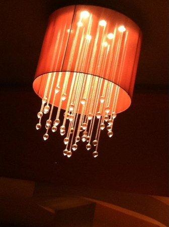 New Orleans Marriott : Lobby lounge lighting, so beautiful
