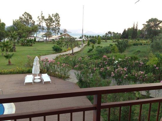 Marmaris Resort Deluxe Hotel: Balcony view