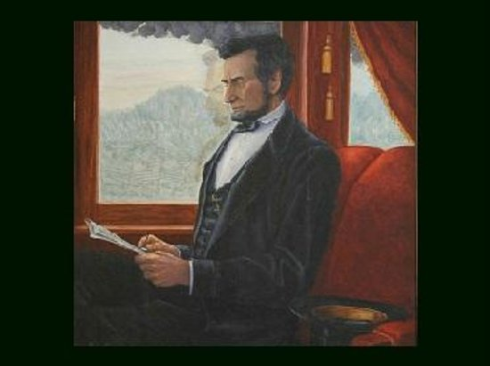 Lincoln Train Museum: Ride our train with the Spirit of Abraham Lincoln!