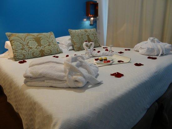 Saboia Estoril Hotel : Pormenor de cama