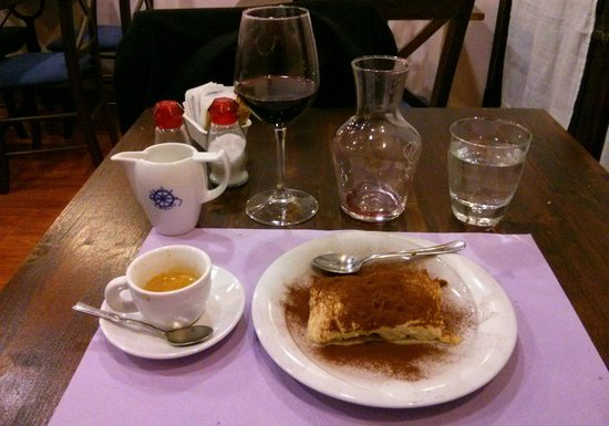 HOSTARIA IL RIALTO: Dolce (Tiramisu...okay, not really Sienese!)
