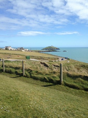 Ballycotton Cliff Walk : Start of walk looking back