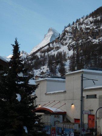 Ambassador Hotel Zermatt : We could see the Matterhorn!
