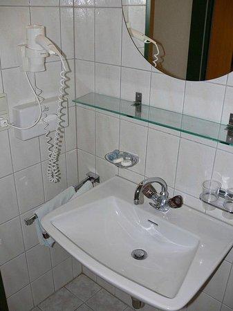 Götznerhof: Small clean bathroom