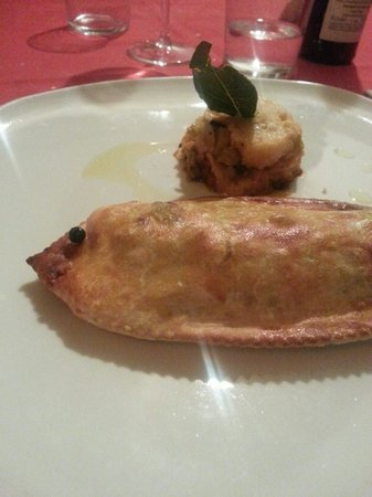 Ristorante La Berlera : Salmerino. Proposta di pesce.