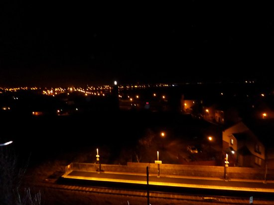 Ardrossan UK View from Cannon Hill at night  sc 1 st  TripAdvisor & View from Cannon Hill at night - Picture of Ardrossan North ...