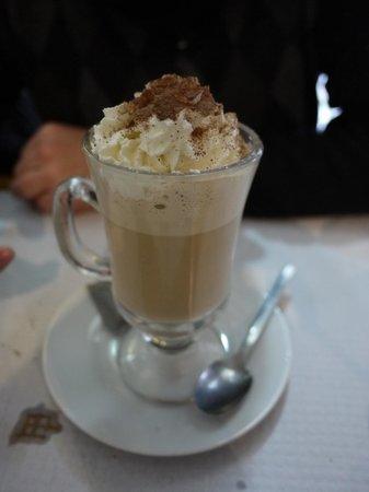 Restaurante Caravela da Ribeira: Un cafe para terminar bien