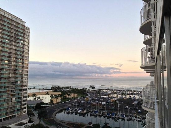 The Modern Honolulu: View from the edge of my balcony