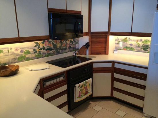 Whalers Cove Resort: Kitchen with new appliances
