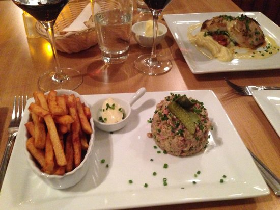 Bistro Duo.D : The spicy steak tartare