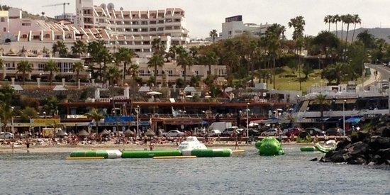 Tinerfe Garden: Puerto Colon - Beach / Inflatables