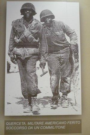 Museo della Linea Gotica: Soldati americani della Divisione Buffalo