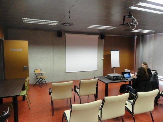 Expo Hotel Valencia : Sala onde apresentei o trabalho científico