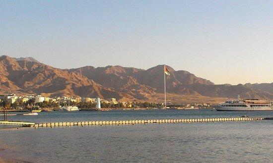 InterContinental Aqaba Resort: beach view