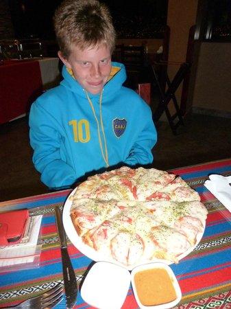 Wyndham Cusco Saqsayhuaman: Pizza for 1????
