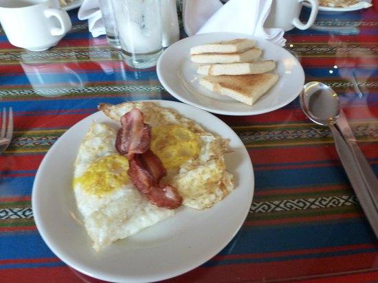 Wyndham Cusco Saqsayhuaman: Part of breakfast