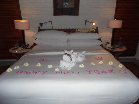The Chedi Club Tanah Gajah, Ubud, Bali – a GHM hotel: New Years Eve greeting