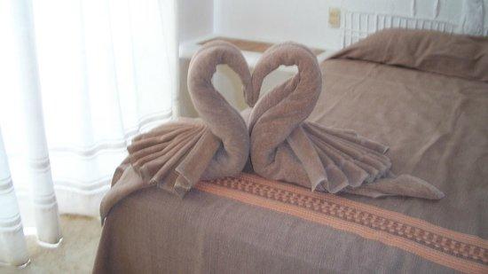 Koox Caribbean Paradise Hotel: sobre la cama