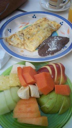 Koox Caribbean Paradise Hotel: desayuno