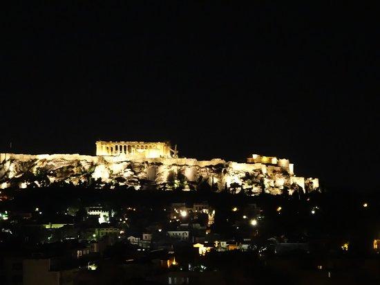 Athens Center Square: Vista desde la terraza del hotel