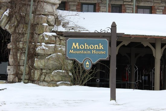 Mohonk Mountain House : Sign