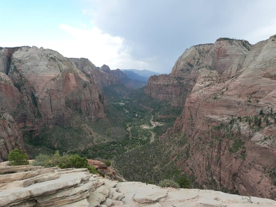 Angel's Landing: View from top of angels landing