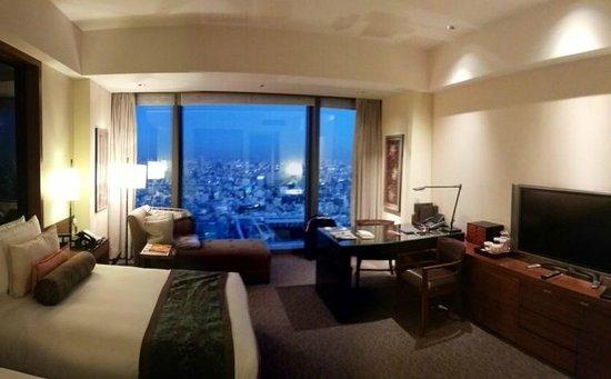 Mandarin Oriental, Tokyo: Suite e escritório com vista panorâmica de Tokyo.