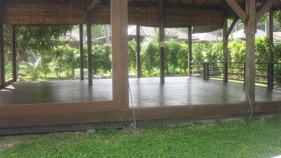 Samahita Retreat : yoga hut