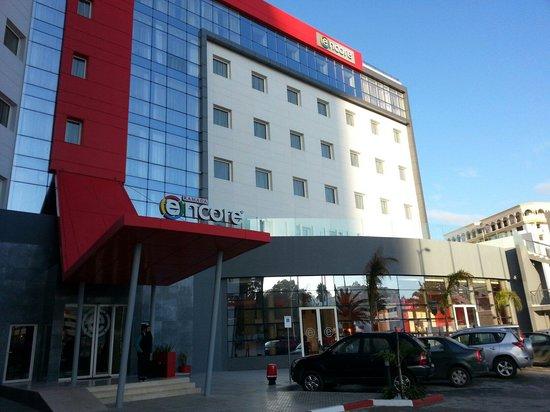 Ramada Encore Tangier : Main entrance and car park