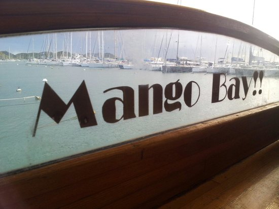 Le Mango Bay: A view on the bay