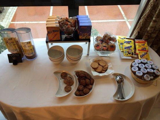 Melia Recoletos Hotel: Zona sin gluten desayuno