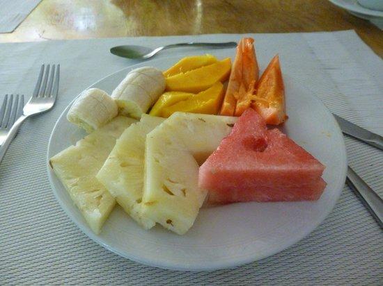 San San Tropez Villa-Hotel: Desayuno