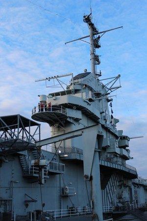Patriots Point Naval & Maritime Museum: the bridge