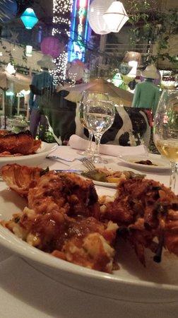 Hotel Plaza Corniche: Bela lagosta!