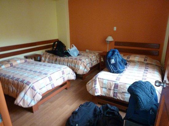 Hotel Casa de Mama Valle : Triple