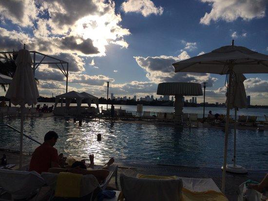Mondrian South Beach Hotel : Nice view