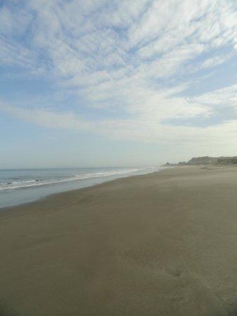 La Posada de los Tumpis: Private beach...