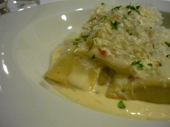 Pasta Kitchen & Bar : Mushroom and Ricotta Agnolotti