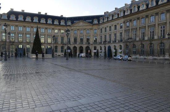 Place Vendôme : A praça