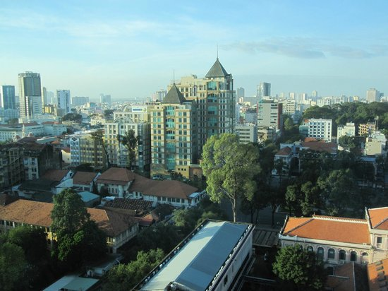 InterContinental Saigon Hotel : View on Ho Chi Minh City