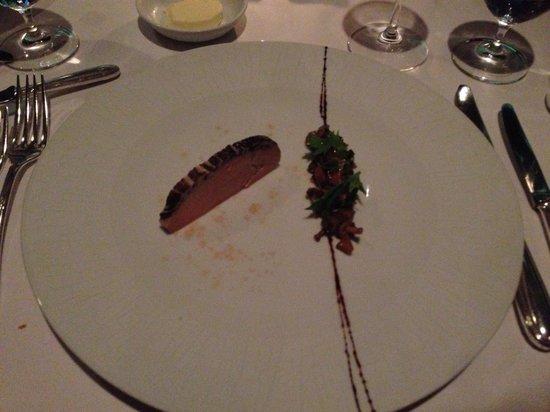 La Mer -  L'Aperitif: Fois appetizer