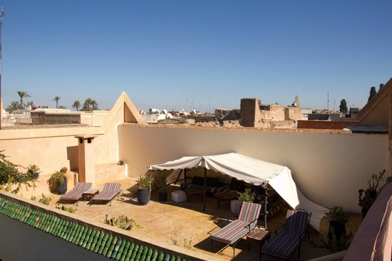 Riad Laila: Roof