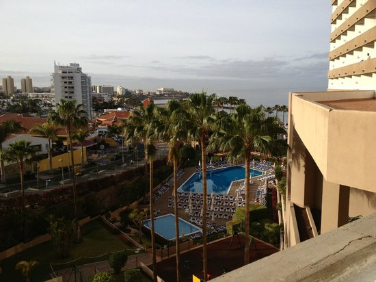 Iberostar Bouganville Playa : View from room - Bouganville Pool