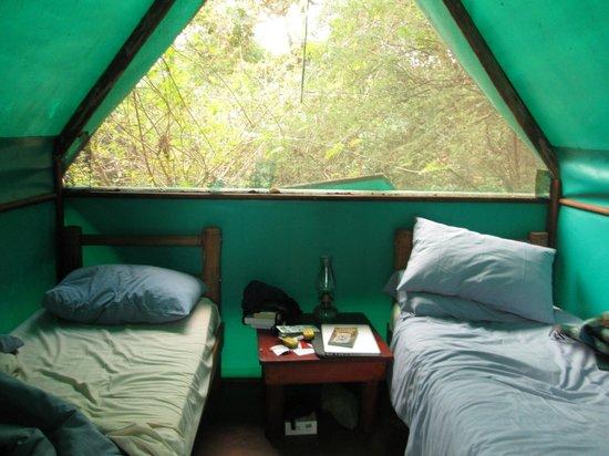 Pafuri River Camp : tent bedroom