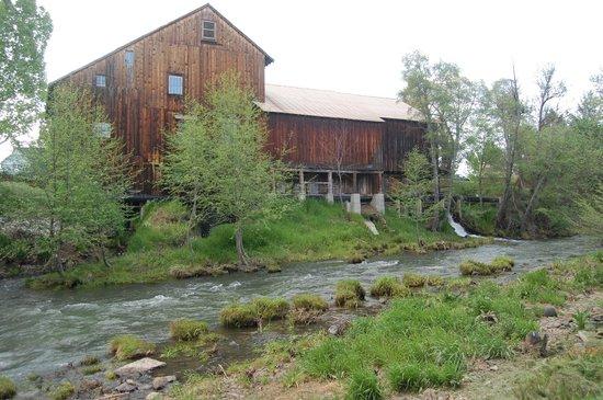 Butte Creek Mill: creek side view