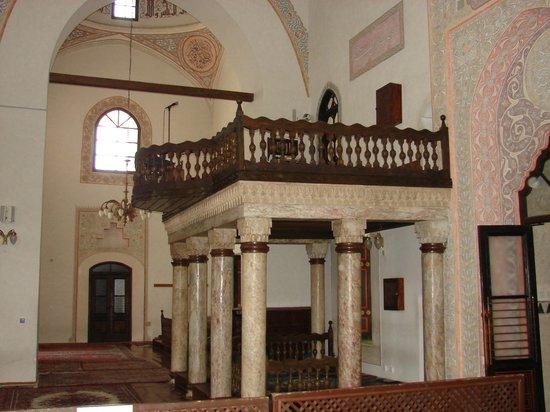 Gazi Husrev-beg Mosque: inside