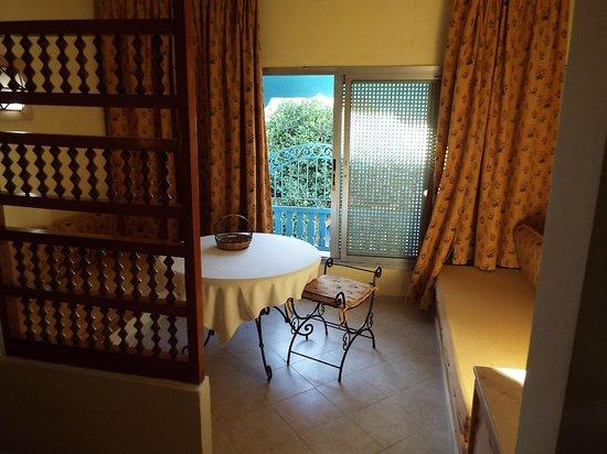 Residence Hammamet: Salottino