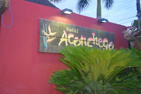 Hotel Aconchego Porto de Galinhas: Placa