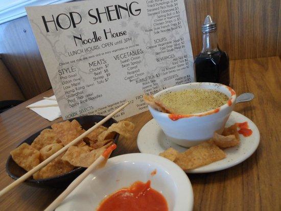 Hop Sheing Noodle House: EGG DROP SOUP