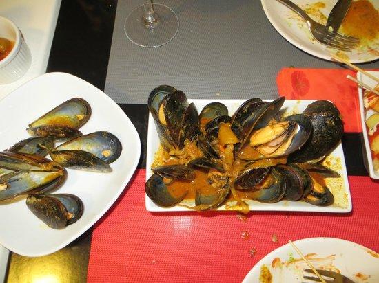 Gastromaquia : tikka masala mussels